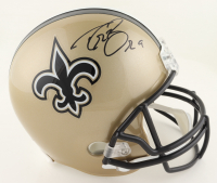 Drew Brees Signed Saints Full-Size Helmet (Beckett COA & Brees Hologram) at PristineAuction.com