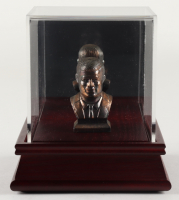 John F. Kennedy Bronze Bust Figurine with Display Case at PristineAuction.com