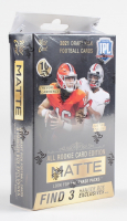 2021 Wild Card Matte Black Football Hanger Box with (10) Cards at PristineAuction.com