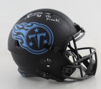 "Jevon Kearse Signed Titans Full-Size Eclipse Alternate Speed Helmet Inscribed ""The Freak!"" (JSA COA) at PristineAuction.com"