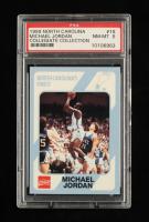 Michael Jordan 1989-90 North Carolina Collegiate Collection #18 (PSA 8) at PristineAuction.com
