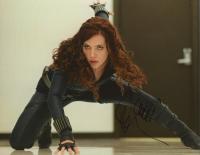 "Scarlett Johansson ""Black Widow"" Signed 8x10 Photo (AutographCOA COA) at PristineAuction.com"