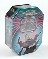 Pokemon TCG: Knockout Tin with (3) Packs at PristineAuction.com