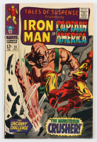"""1967 """"Tales of Suspense"""" Issue #91 Marvel Comic Book at PristineAuction.com"""