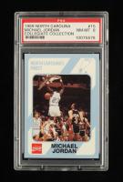 Michael Jordan 1989-90 North Carolina Collegiate Collection #15 (PSA 8) at PristineAuction.com