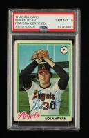 Nolan Ryan Signed 1978 Topps #400 (PSA Encapsulated) at PristineAuction.com