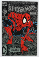 """1990 """"Spider-Man: Torment"""" Issue #1 Silver Edition Marvel Comic Book at PristineAuction.com"""