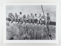 """Historical Photo Archive - """"Lunch atop a Skyscraper"""" Limited Edition 16.5x22 Fine Art Giclee on Paper #49/375 (PA LOA) at PristineAuction.com"""