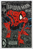 """1990 """"Spider-man: The Legend Of The Arachknight"""" Issue #1 Silver Edition Marvel Comic Book at PristineAuction.com"""