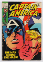 "1969 ""Captain America"" Issue #114 Marvel Comic Book at PristineAuction.com"