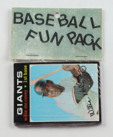 1971 Topps Baseball Fun Rack Pack with (10) Cards at PristineAuction.com