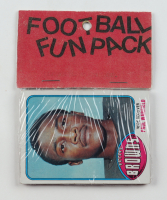 1976 Topps Football Fun Rack Pack with (10) Cards at PristineAuction.com