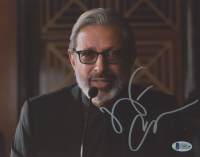Jeff Goldblum Signed  8x10 Photo (Beckett Hologram) at PristineAuction.com