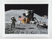 """Historical Photo Archive - """"Apollo 15 Lunar Module"""" Limited Edition 16.5x22 Fine Art Giclee on Paper #27/375 (PA LOA) at PristineAuction.com"""