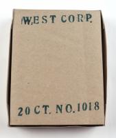 1974 West Corp Vendors Box of (20) Baseball Fun Packs at PristineAuction.com