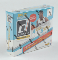 2019-20 Panini Clearly Donruss Basketball Hobby Box with (4) Packs at PristineAuction.com