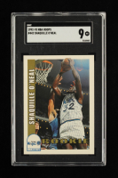 Shaquille O'Neal 1992-93 Hoops #442 RC (SGC 9) at PristineAuction.com