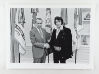 """Historical Photo Archive - """"The President & the King"""" Limited Edition 16.5x22 Fine Art Giclee on Paper #33/375 (PA LOA) at PristineAuction.com"""
