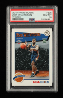 Zion Williamson 2019-20 Hoops Winter #296 RC (PSA 10) at PristineAuction.com