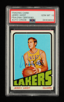 Jerry West Signed 1972-73 Topps #75 (PSA Encapsulated) at PristineAuction.com