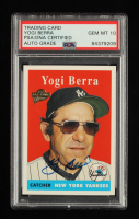 Yogi Berra Signed 2004 Topps All-Time Fan Favorites #90 (PSA Encapsulated) at PristineAuction.com