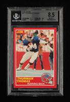 Thurman Thomas 1989 Score #211 RC (BGS 8.5) at PristineAuction.com