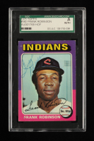 Frank Robinson Signed 975 Topps #580 (SGC Encapsulated) at PristineAuction.com
