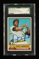 Dave Winfield Signed 1976 Topps #160 (SGC Encapsulated) at PristineAuction.com