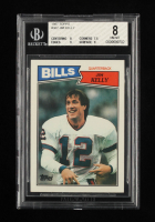 Jim Kelly 1987 Topps #362 RC (BGS 8) at PristineAuction.com