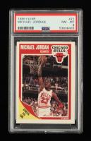 Michael Jordan 1989-90 Fleer #21 (PSA 8) at PristineAuction.com