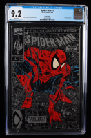 """1990 """"Spider-man: The Legend Of The Arachknight"""" Issue #1 Silver Edition Marvel Comic Book (CGC 9.2) (See Description) at PristineAuction.com"""