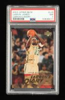LeBron James 2003-04 Upper Deck LeBron's Diary #LJ3 (PSA 7) at PristineAuction.com