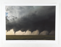 """Historical Photo Archive - """"Evolution of a Tornado"""" Limited Edition 16.5x22 Fine Art Giclee on Paper #17/375 (PA LOA) at PristineAuction.com"""