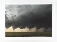 """Historical Photo Archive - """"Evolution of a Tornado"""" Limited Edition 16.5x22 Fine Art Giclee on Paper #16/375 (PA LOA) at PristineAuction.com"""