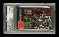 Walter Payton Signed Bears 1995 Super Bowl XX Champions 10th Anniversary Calling Card #15,914/25,000 (PSA Encapsulated) at PristineAuction.com