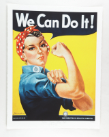 """Historical Photo Archive - """"We Can Do It!"""" Limited Edition 17.25x22.25 Fine Art Giclee on Paper #27/375 (PA LOA) at PristineAuction.com"""