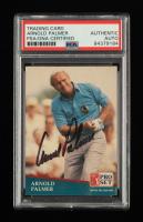 Arnold Palmer Signed 1991 Pro Set #220 (PSA Encapsulated) at PristineAuction.com