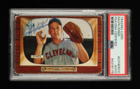 Ralph Kiner Signed 1955 Bowman #197 (PSA Encapsulated) at PristineAuction.com