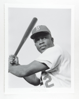 """Historical Photo Archive - """"Jackie Robinson"""" Limited Edition 16.5x22 Fine Art Giclee on Paper #57/375 (PA LOA) at PristineAuction.com"""