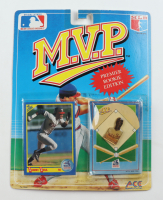 Sammy Sosa 1990 MLB Collector Pin Series M.V.P. Premier Rookie Edition with Card at PristineAuction.com