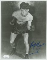 Rocky Graziano Signed 8x10 Photo (JSA COA) at PristineAuction.com