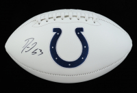 Darius Leonard Signed Colts Logo Football (JSA COA) at PristineAuction.com