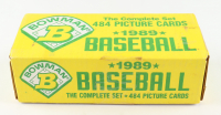 1989 Bowman Complete Set of (484) Baseball Cards with #220 Ken Griffey Jr. RC at PristineAuction.com