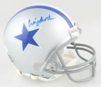 Craig Morton Signed Cowboys Mini Helmet (JSA COA) at PristineAuction.com