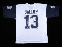 Michael Gallup Signed Jersey (Beckett Hologram) at PristineAuction.com