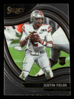 Justin Fields 2021 Panini Chronicles Draft Picks Select #259 RC at PristineAuction.com