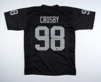 Maxx Crosby Signed Jersey (Beckett Hologram) at PristineAuction.com