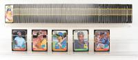 1987 Donruss Complete Set of (660) Baseball Cards with #35 Bo Jackson RC, #46 Mark McGwire, #43 Rafael Palmeiro RC, #361 Barry Bonds RC, #36 Greg Maddux RC at PristineAuction.com