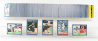 1986 Fleer Complete Set of (660) Baseball Cards with #345 Roger Clemens,  #646 Paul O'Neill RC, #284 Cal Ripken, #310 Nolan Ryan, #649 Jose Canseco RC at PristineAuction.com