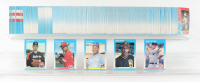 1987 Fleer Complete Set of (660) Baseball Cards with #32 Roger Clemens, #604 Barry Bonds RC, #369 Bo Jackson RC, #204 Barry Larkin RC, #67 Nolan Ryan at PristineAuction.com